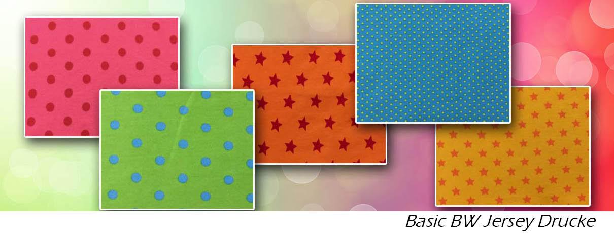 BW Jersey Basic Muster