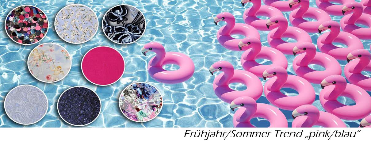 "Frühlingstrend 2019 ""blau/pink"""
