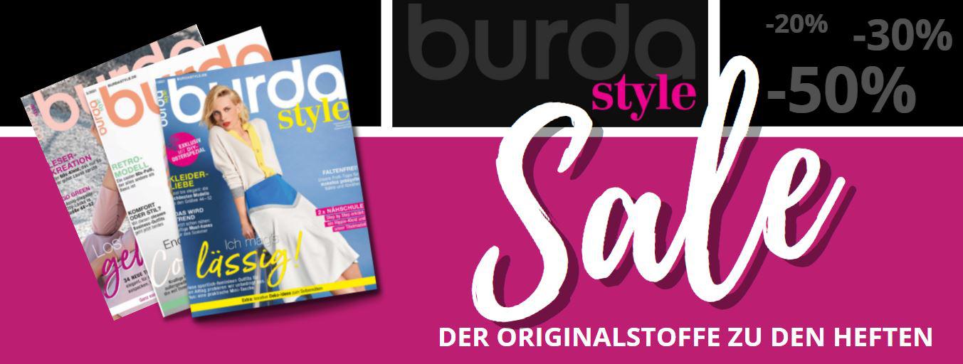 Burda Style Stoffe   Sale bis -50%