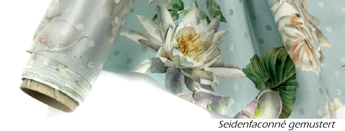 Seiden-Faconne