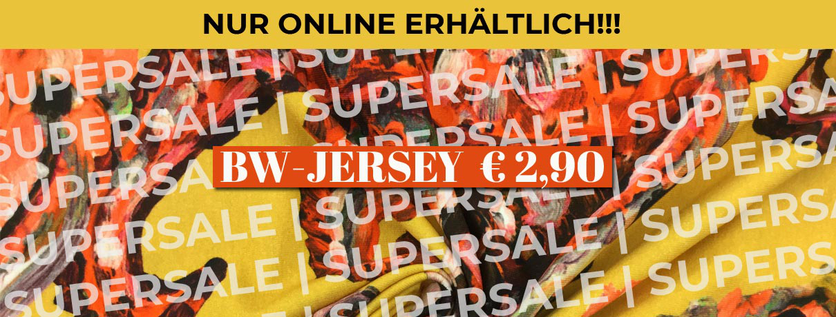 BW-Jersey Supersale € 2,90