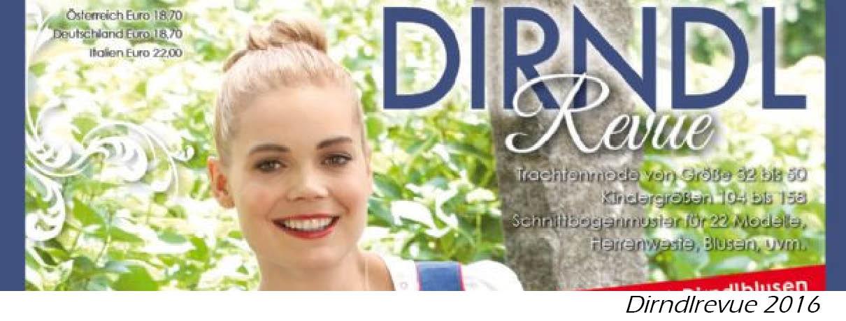 Dirndl Revue 2018 Stoffe || Dirndl selber nähen