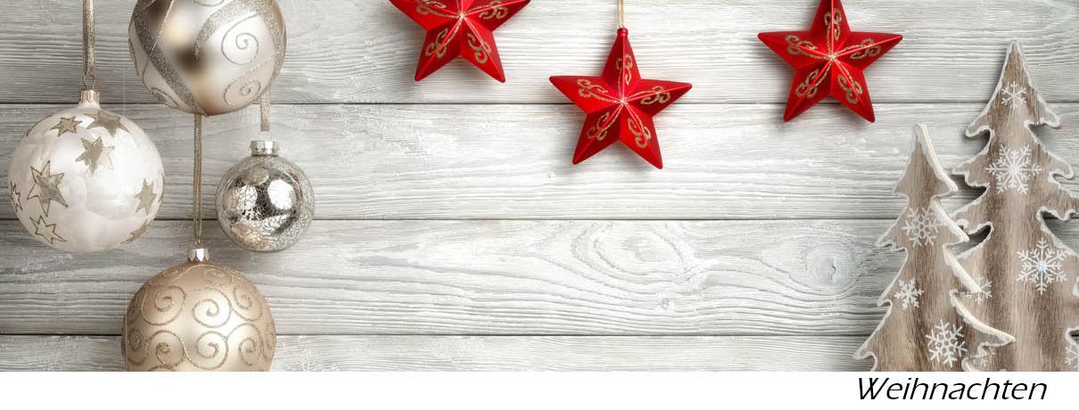 Stoffe für Weihnachtsdeko