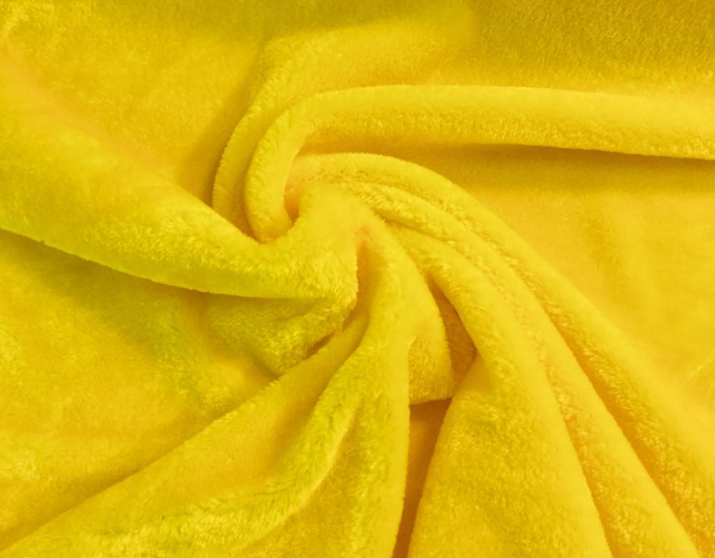 Plüsch Gelb