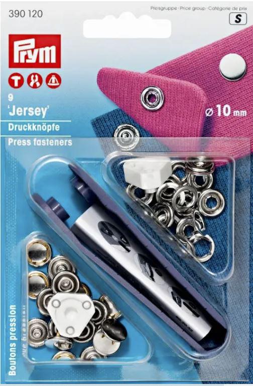 Jerseydruckknöpfe