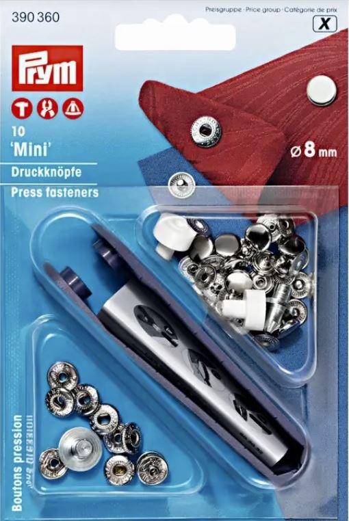 Minidruckknöpfe