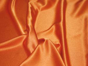Crepe Satin orange
