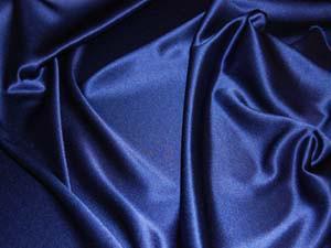 Crepe Satin blau