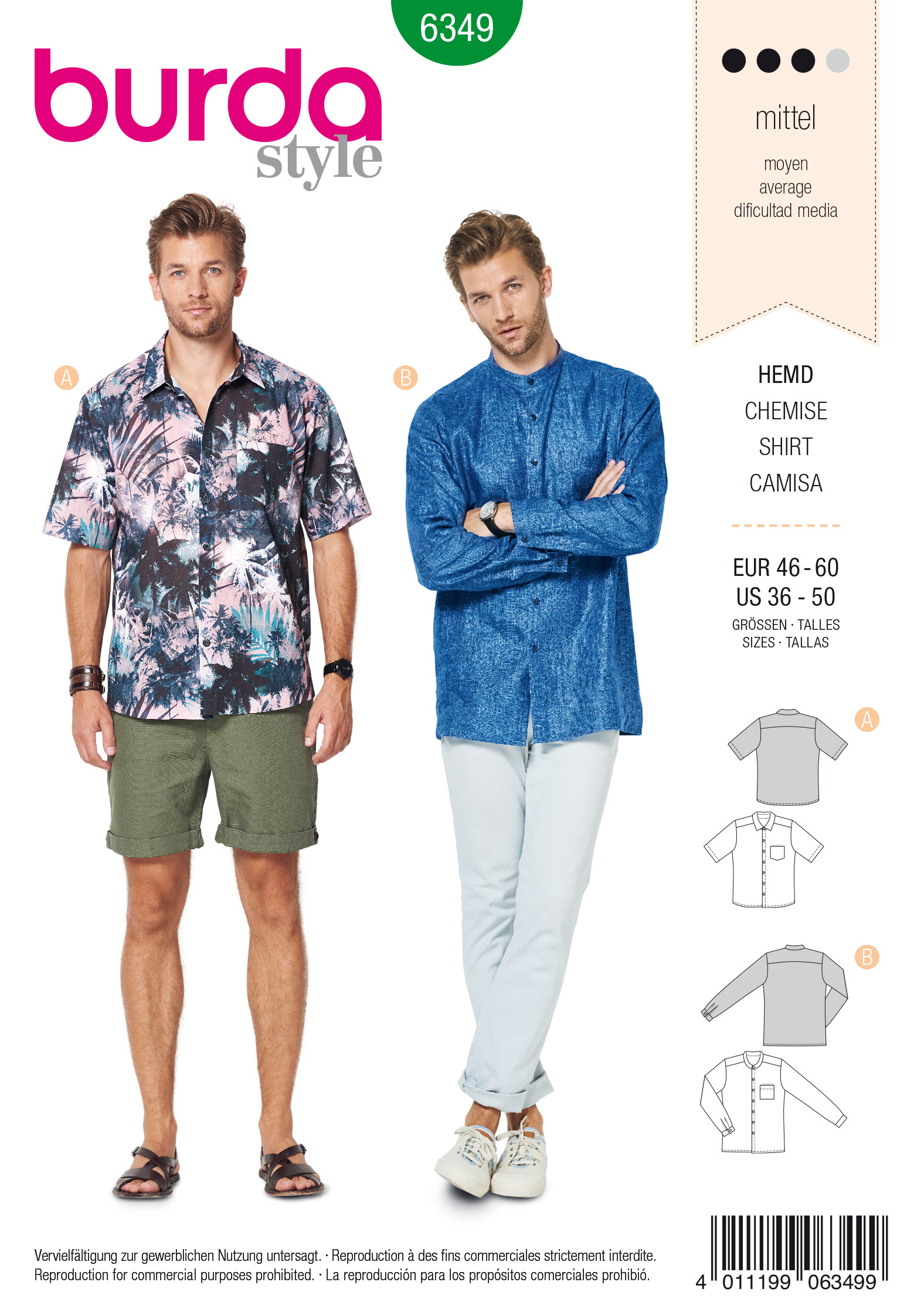 Hawaii– Hemd