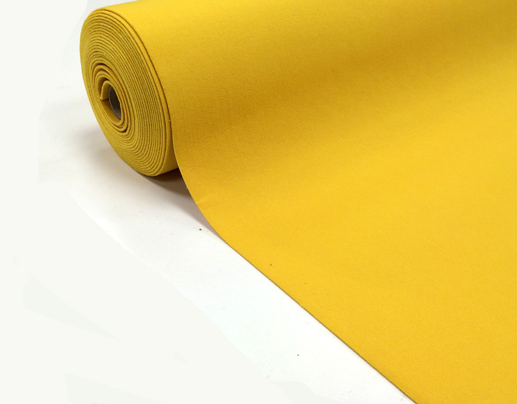 Filz gelb