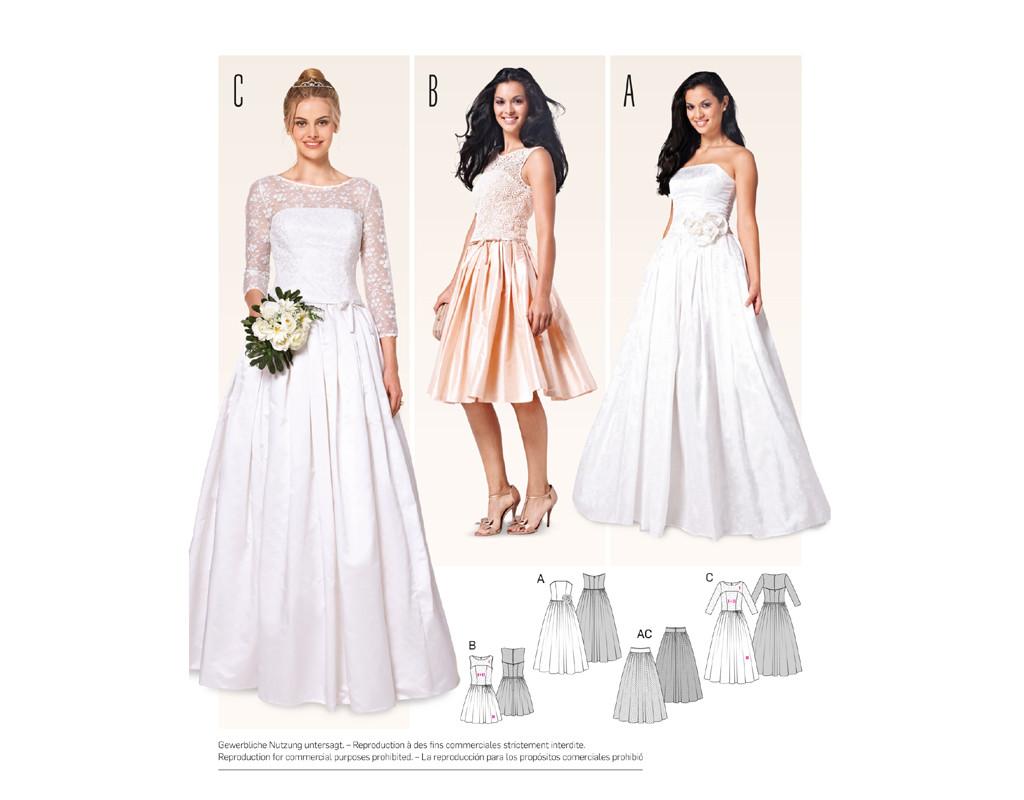 Korsagenkleid – Brautkleid