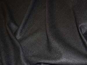 Seidenleinen schwarz