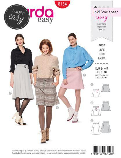 Lange und kurze Röcke