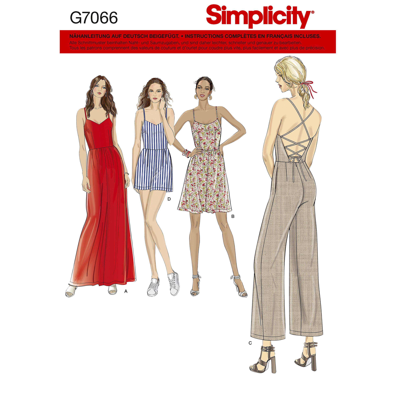 Kleid und Overall
