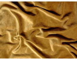 PE Stretch-Samt  gold