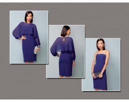 Kleid mit Blusentop