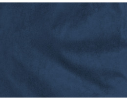 Stretch Rauhlederimitat dunkelblau