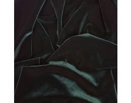 PE Stretch-Samt  dunkelgrün