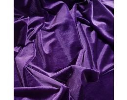 PE Stretch-Samt Violett