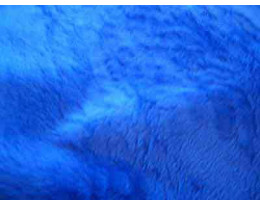 Plüsch blau