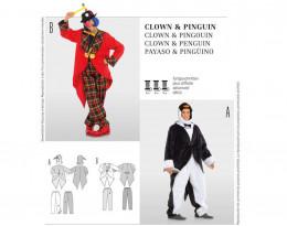 Clown, Pinguin
