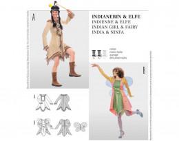 Indianerin, Elfe