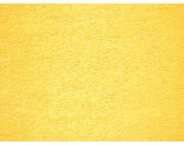 Frottee gelb