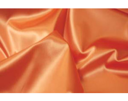 Stretch Satin hellorange