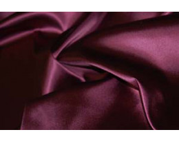 Stretch Satin dunkelviolet