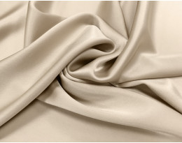 Triacetat Satin beige