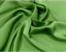 Triacetat Satin grasgrün