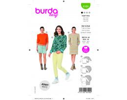 Bequeme Sweatshirts / Kleid mit Känguru-Tasche