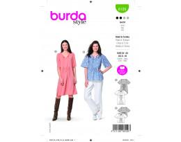 Knielanges Kleid und Tunika