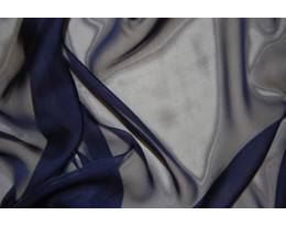 Mousseline dunkelblau