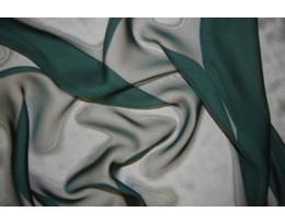 Mousseline dunkelgrün
