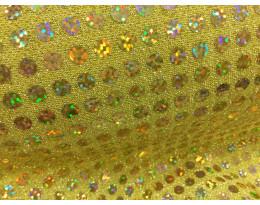 Pailetten Gold Irisierend