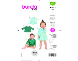 Kleid und Shirt für Babys