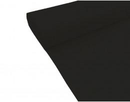 Satin schwarz 280cm BW/PE
