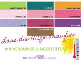 "Verdunkelungsstoff ""Black Out"" div Farben"