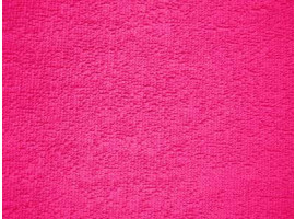 Frottee pink