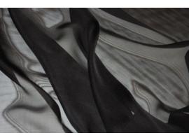Mousseline schwarz