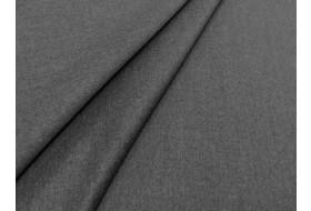 Woll Flanell grau