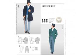 Frack - White Tie - Herrenanzug History 1848