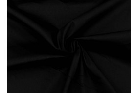 BW Stretch Satin schwarz