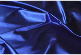 Stretch Satin kornblau
