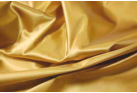 Stretch Satin gold