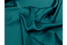 Triacetat Satin petrol
