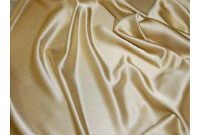 Crepe Satin gold