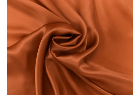 Satin dunkelorange