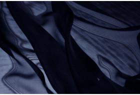 Mousseline nachtblau